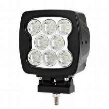80w 9 LED Driving Work Light Lamp Square Offroad SUV ATV 4WD Boat Camp