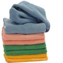 Serviette en microfibre pour lave-auto / turban / main / visage / sport / gym / bain / plage avec une serviette en microfibre