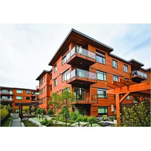 Healthy Waterproof Western Red Cedar Exterior Wall Paneling