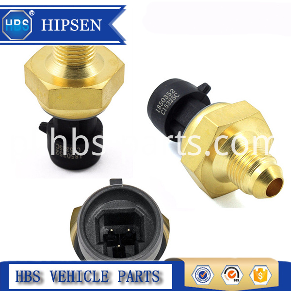 International Exhaust Backpressure Sensor