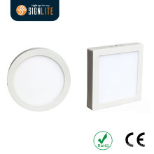 Surface Mounted Installation Square or Round 6W/12W/18W/24W LED Down Light/Panel Light