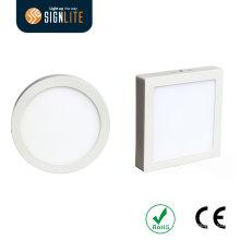 Quadrado de instalação montado em superfície ou redondo 6W / 12W / 18W / 24W LED para baixo luz / luz de painel