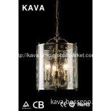 3*40W Pendant hanging lights,glass shade hanging lights