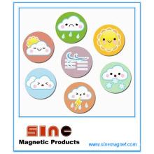 Kreativer netter Wetter-Kühlschrank-Magnet