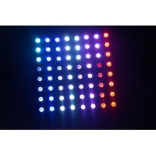 El panel led exterior sk6812_5v SMD5050 RGB P10 más popular 8x8