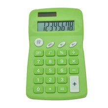 Dual Power 8-digit Display Calculator With Memory Function