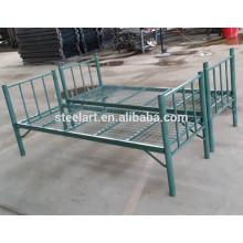 оптовая торговля мебелью военных двухэтажный металлический складной военных кровать двухъярусная