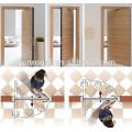 Single leaf Interior double swing wooden door