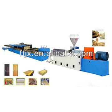 Línea de extrusión de WPC de nueva generación, cadena de producción del WPC, maquinaria de WPC