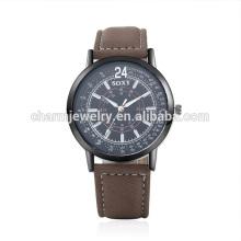 Neue Art- und Weise preiswerte Retro- Quarz-populäre lederne Armbanduhr SOXY049