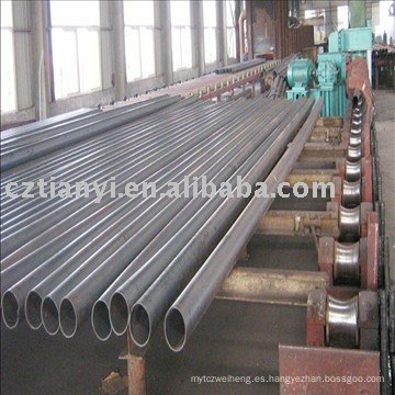 Tubo de acero soldado (uso para petróleo y gas)