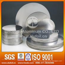 DC/CC 1060 aluminium circle for cooking utensils