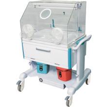 Trole distribuidor da medicação de aço da segurança do hospital