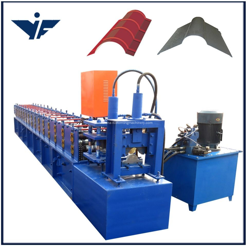 2018 Ridge cap roll forming machine
