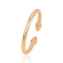 51426 Joyería de Xuping Venta caliente 18K Brazalete chapado en oro con estilo de puño
