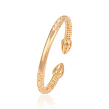 51426 Xuping Jewelry Hot Sale 18K Gold Plated Bangle With Cuff Style