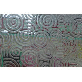3.5mm , 4mm , 5mm Acid Etched Pattern Glass , Uniformly Smooth