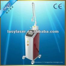 Machine de retrait de cicatrice laser au CO2