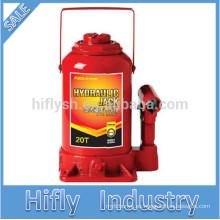 HF-R020 20TON Gato hidráulico Tipo de botella Gato piso Jack como herramientas de reparación de automóviles (certificado CE)