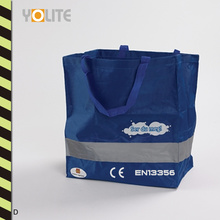 Reflective Non Woven Bag - Reflective Warning Shopping Bag (YLS02)