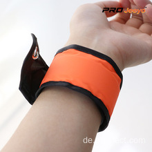 Reflective Orange Woven Fabrics Sport Wrap Band