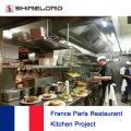 França Paris Restaurant Project By Shinelong