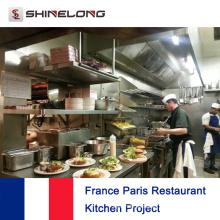Proyecto del restaurante France Paris por Shinelong