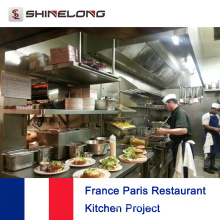 França Paris Restaurant Project By Shinelong