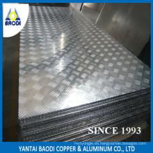 Pre-corte de la placa de control de aluminio para el barco