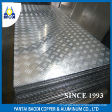 Pre-Cut Aluminum Checker Plate for Boat
