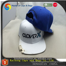 Wholesale 3D embroidery snapback hat with bottle opener