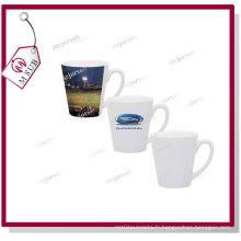 12oz tasse en plastique de blanche pour Latte de Mejorsub