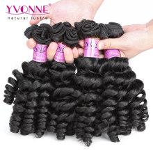 Melhor qualidade encaracolado virgem Funmi cabelo