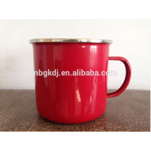 red enamel coating mugs and cups & enamelware wholesale