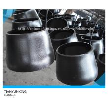 Réducteurs de tuyaux en acier carbone-carbone concentriques A234 Wpb