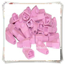 RJ45 Pink Strain Relief Boots para cabo RJ45