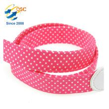 Hersteller New Style Fashion Rose Rot Wavelet Punkt Weicher Baumwolle Seil Kamera Straps