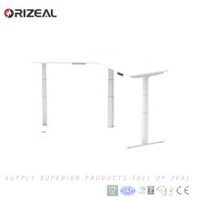 Staff computer workstation steel desk hardware adjustable height standing desk