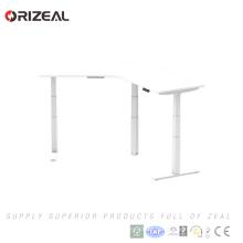 Estação de trabalho computador pessoal estação de trabalho mesa de aço altura ajustável mesa de pé