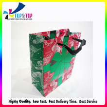 Gold Foil Gift Bag with UV Finish
