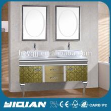 Cabine de toilette moderne en acier inoxydable indépendante