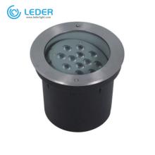 LEDER Remote control Driveway 12W LED Inground Light