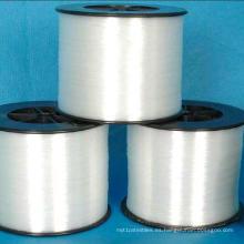 Hilado de monofilamento de hilo de nylon DTY blanco crudo