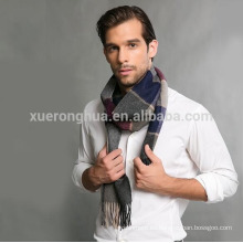 bufanda de lana en cuadros