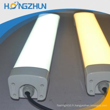 T8 à ruban adhésif chaud tube de vente conduit lumière 36w haute économie d'énergie imperméable à l'eau