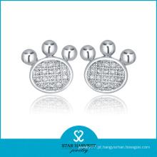 Brincos de diamante de 925 com Encanto de 2016