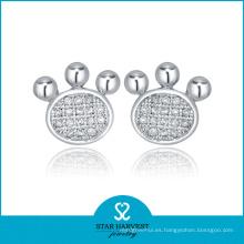 2016 Pendientes con Encanto de 925 Diamantes