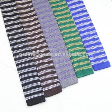 100% Silk Fashion Slim Knitted Tie