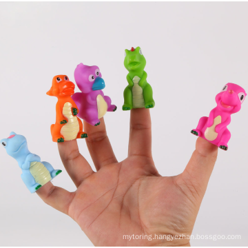 High-quality soft silicone animal finger toy manufacturer