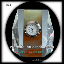 Wunderbare K9 Kristalluhr T074